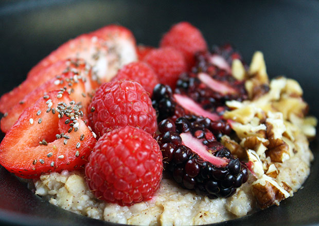 Fruit and Nut Oatmeal